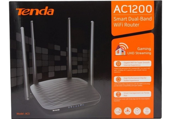 Router Tenda Ac5 Dual Band (gral. Roca)