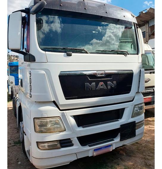 Man Tgx 28440 2017 Cavalo Truck 6x2 Teto Alto=stralis 440