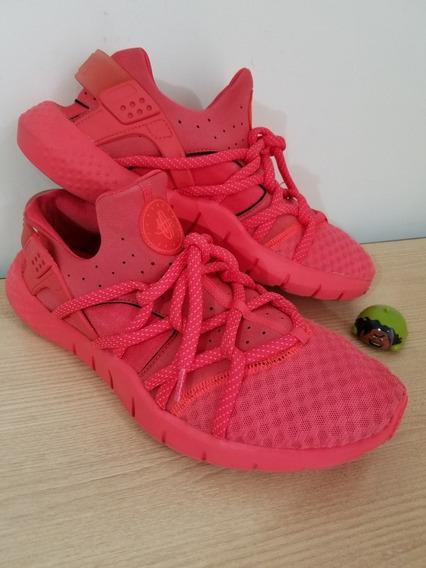 Tenis Nike Huarache Rm Red Talla 31 Mx