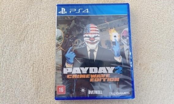 Jogo Payday 2 Crimewave Edition Ps4 Original