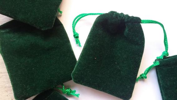 Bolsas Verde Pana - 6x7