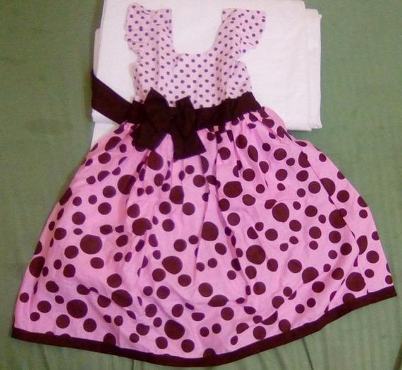 Vestido Infantil Festa Laços 0 - 8 Anos