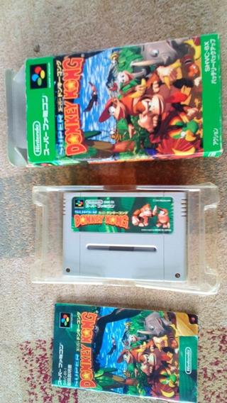 Donkey Kong Super Famicon Nintendo Snes Nitendo