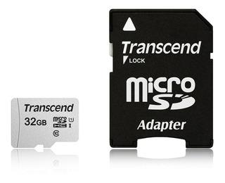 Transcend 32gb Microsdhc Uhs-i Class 10 U1 Memory Card With
