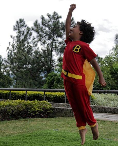 Pijama Para Niño Super Heroe Bambino