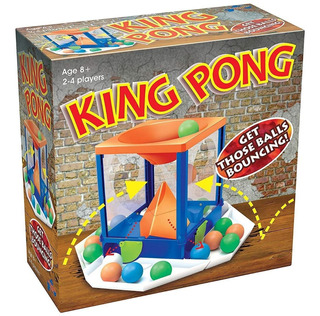 Juego De Mesa King Pong Emboca La Pelotita Next Point Tv
