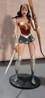 Figura De La Mujer Maravilla Muñeco Dc Original 17 Cm Loose
