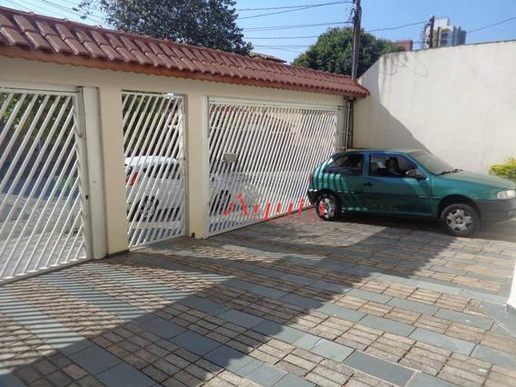 Sobrado Com 3 Dormitórios À Venda, 190 M² Por R$ 650.000 - Vila Pires - Santo André/sp - So0874