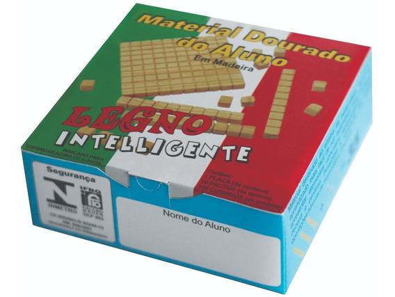 Caixa Master Com 54 Material Dourado Legno Intelligente
