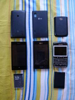 Telefono Lg E612, Nokia Lumia 520 Y Bold2 Reparar O Repuesto