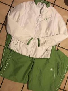 Pants Completo Deportivo Casi Nuevo Marca Lecoq Sportif