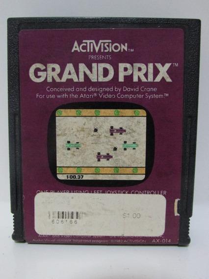 Grand Prix - Jogo Atari 2600 Original Testado E Funcionando