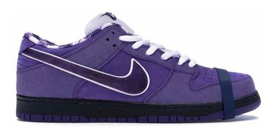 Sneakers Original Nike Sb Dunk Low Concepts Purple Lobster