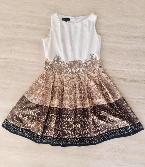 Vestido Dama Casual Elegante T 12 Jones N Y Como Nuevo