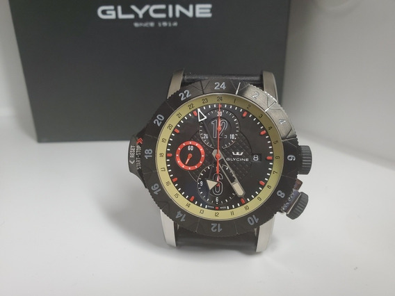 Relógio Glycine Airman 46mm Airfighter Automatic Msrp3900usd