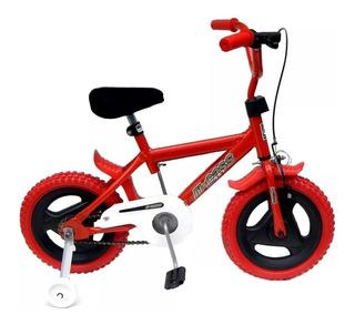 Bicicleta R 12 Niño Niña Full Freno Regalo Timbre