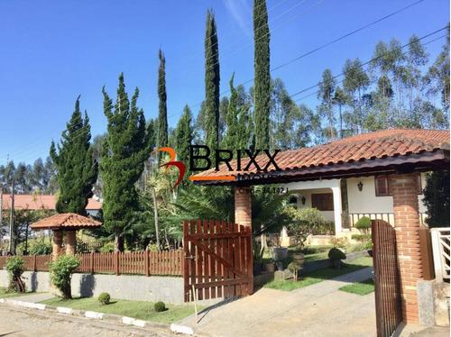 Imagem 1 de 15 de Linda Chácara Em Condomínio, Com 03 Quartos A Venda -santa Isabel - Ru-664
