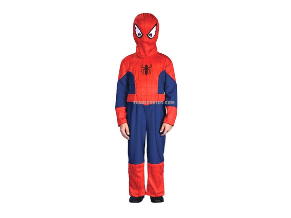 Disfraz Spiderman Talle 2 Marvel New Toys 8 / 9 Años