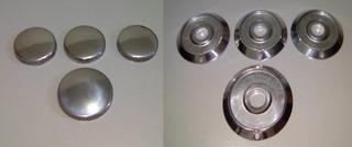Kit C/4 Espalhador Aluminio +4 Bacia Dako Civic Automatico
