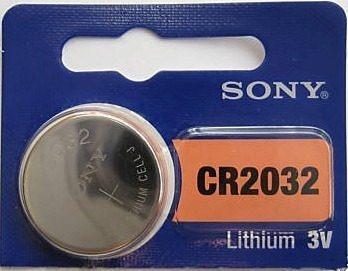 Bateria De Litio Cr2032 Sony