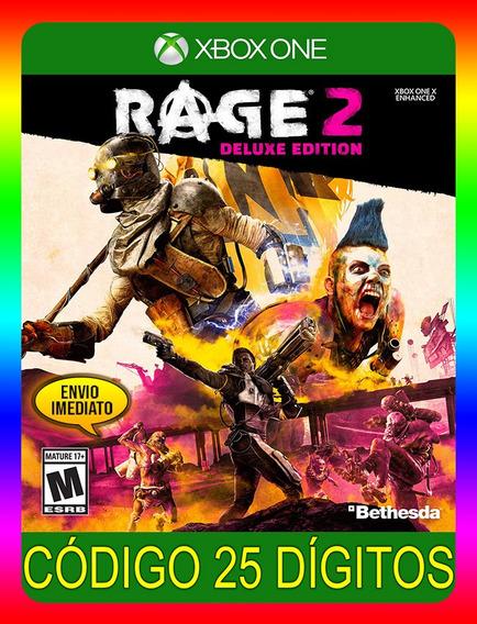 Rage 2 Deluxe Xbox One - 25 Dígitos (envio Já)