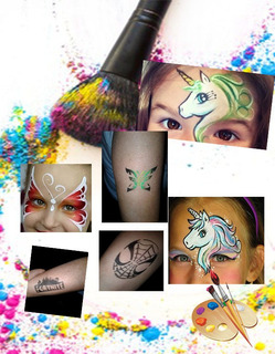 Maquillaje Artistico Infantil Y Tattoo Cumpleaños Eventos