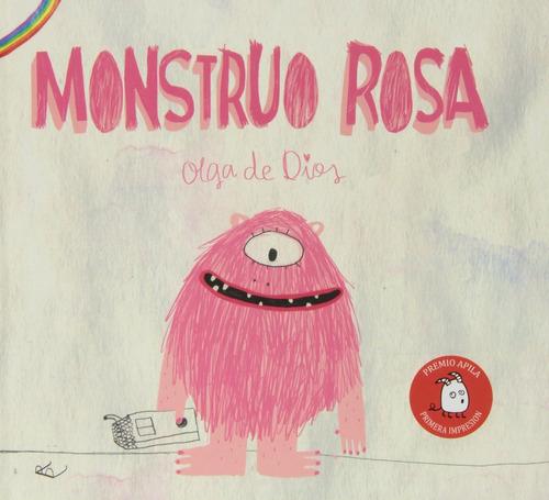 Imagen 1 de 2 de Libro Monstruo Rosa, Olga De Dios Cuento Diversidad Libertad