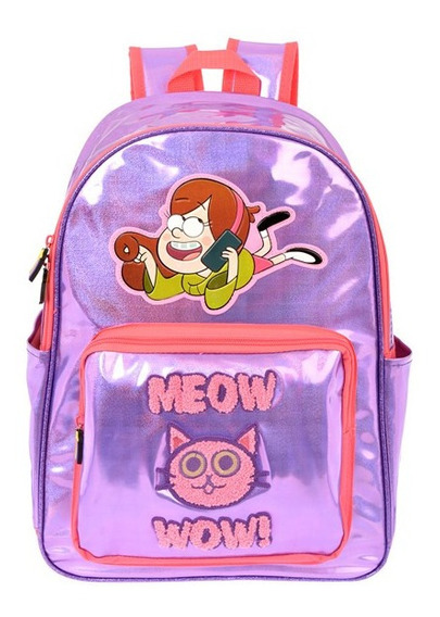 Mochila Primaria Escolar Gravity Falls Niña 7532
