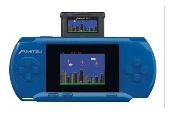 Consola Portátil Videojuego 100 Jgos Retro Mitzu Mvg-9030bl