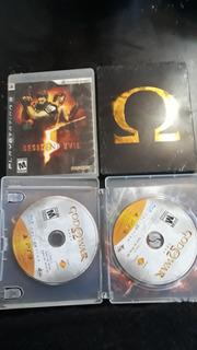 God Of War Saga Y Ascension. Resident Evil 5