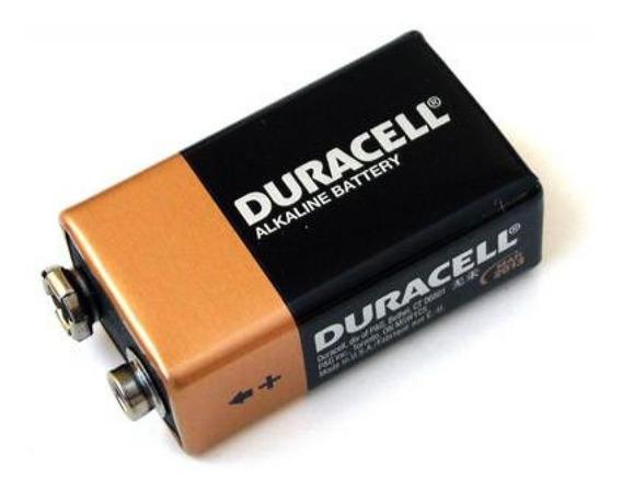 Kit Com 5 Baterias 9v Duracell Original!!!!