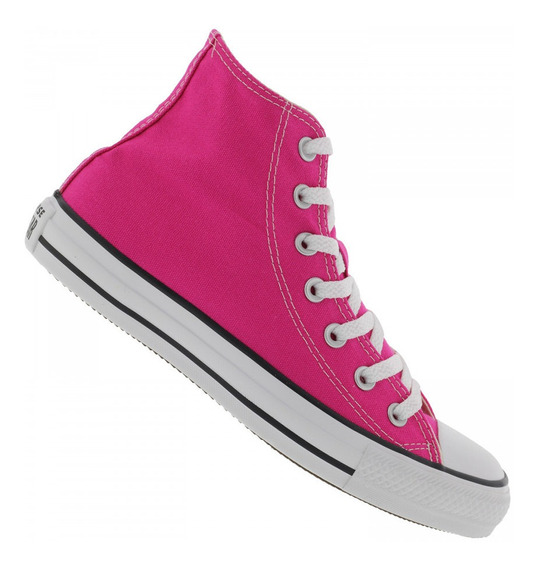 Tênis Converse All Star Chuck Taylor Hi Rosa Pink