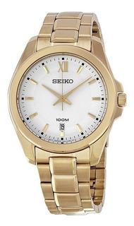 Reloj Seiko Sgeg64 Hombre Acero Inoxidabledorado Sumergible
