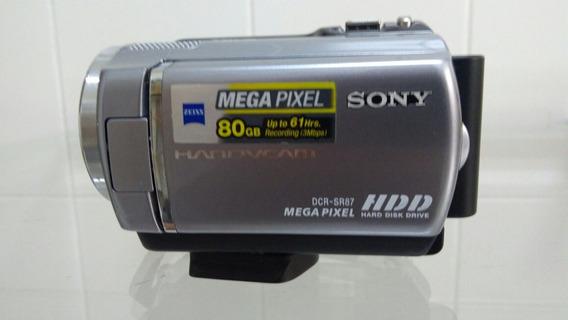 Filmadora Sony Dcr-sr87 + Bateira Nova