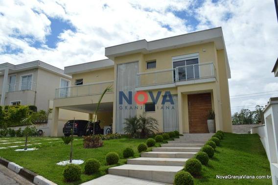 Casa Nova, Integrada, Lazer, Com 3 Suítes À Venda, 382 M² Por R$ 2.000.000 - Beverly Hills - Jandira/sp - Ca1798
