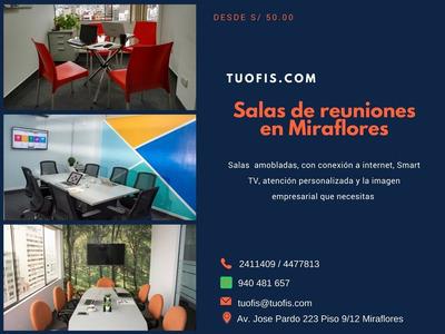Salas De Reuniones En Miraflores