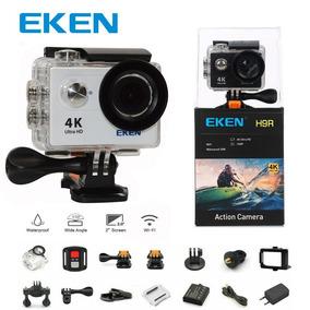 Eken H9r Original Action Cam Hd 4k 2 Baterias = Gopro
