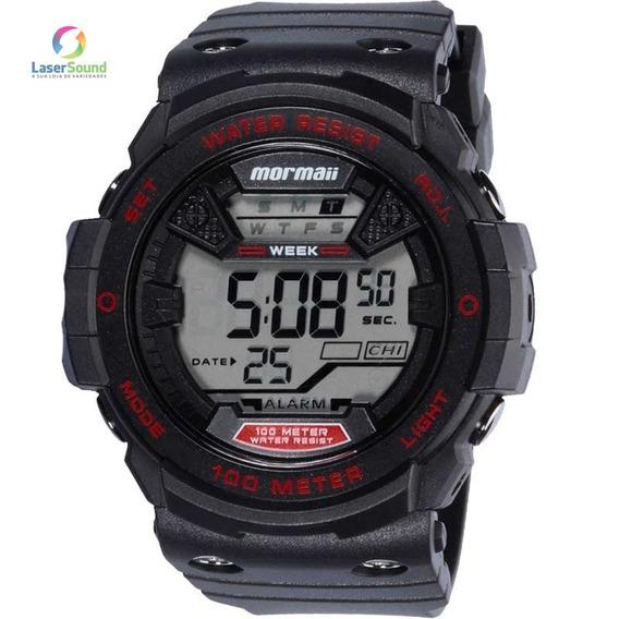 Relógio Mormaii Masculino Mo3500a/8r, C/ Garantia E Nf