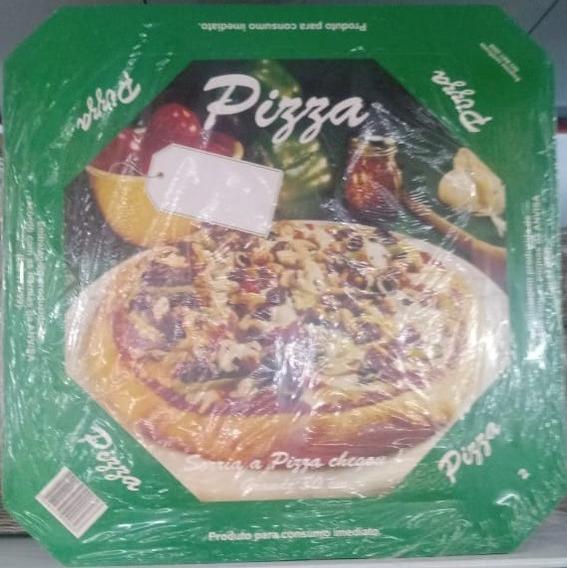 Caixa Para Pizza 30cm Papelão Fundo Branco 25 Unidades