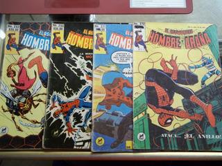 4 Comics De Spider-man Del Año 1985 En Español