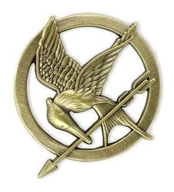 Hunger Games - Juegos Del Hambre Pin Sinsajo Mockingjay Flr