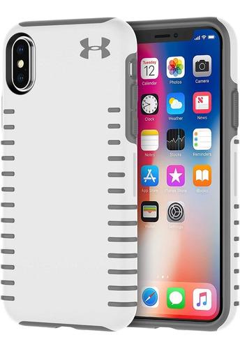 Imagen 1 de 4 de Case iPhone X /xs Under Armour Protect Grip Original 100%