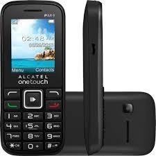 Celular Alcatel Ot 1041 Dual Rádio Mp3 Nf Seminovo