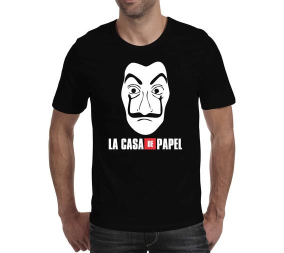 Camiseta La Casa De Papel 3 - Preta
