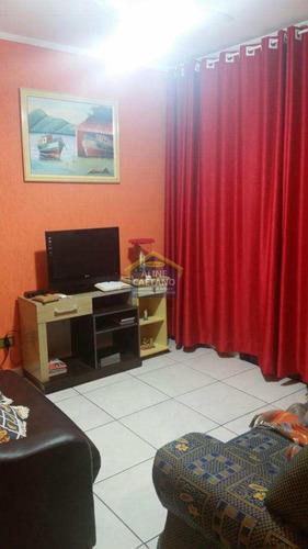 Apto. 1 Dorm, Tupi, Praia Grande - R$ 179 Mil - Vact136
