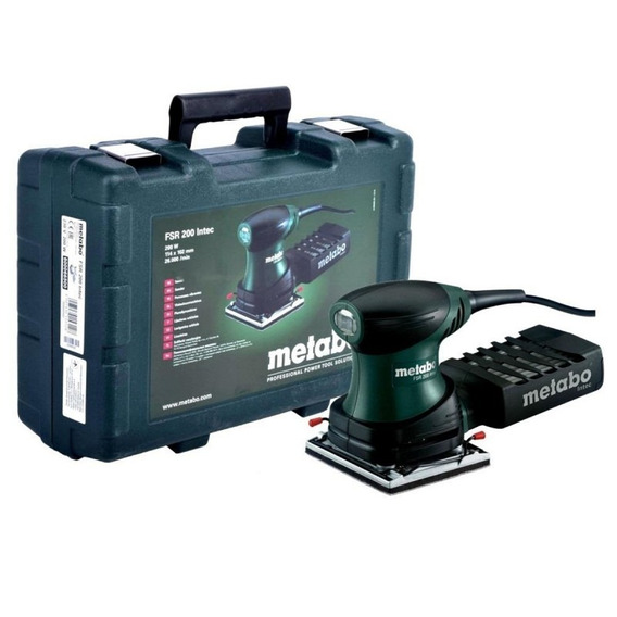 Lijadora Orbital 1/4 200w Rectang. Fsr200 Metabo 600066500