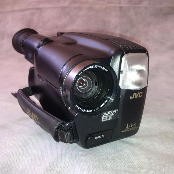Câmera Jvc Môdelo Compact Vhs Camcorder Gr-ax827 E Kit