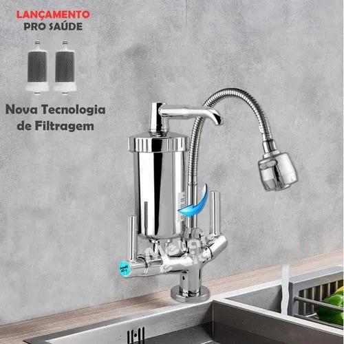 Torneira Luxo Gourmet C/ Filtro Parede E Bancada Super Luxo