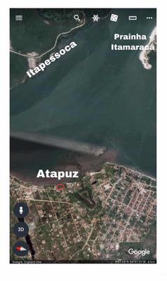 Terreno Em Atapuz, Goiana, Perto Da Fiat, Beira-mar 34x30m
