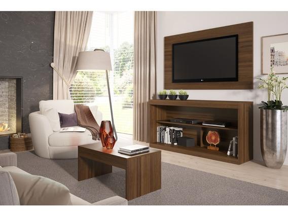 Rack Pra Tv Até 47 Com Mesa De Centro E Painel Multimóveis
